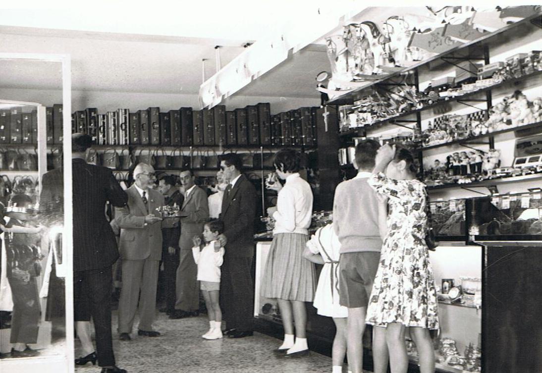 INAUGURAZIONE BAZAR MILANESE - 9 settembre 1959